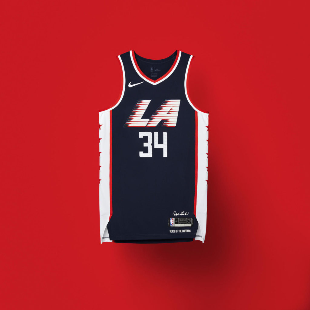 đồng phục bóng rổ NBA City Edition LosAngeles Clippers Jersey