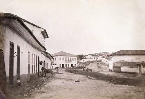 Bairro do Bixiga, em 1862