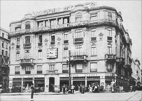 LOJA MAPPIN PRAÇA RAMOS DE AZEVEDO – 1937