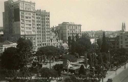 Praça da Alfândega - 1940