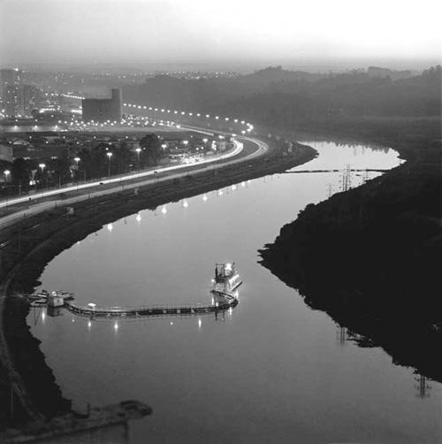 Rio Pinheiros, 1960