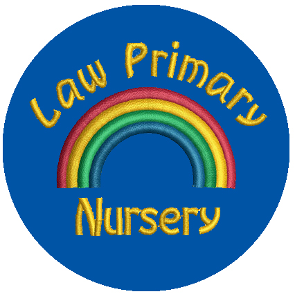 Law Primary Nursery School Badge
