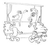 Gibbon-en-scene