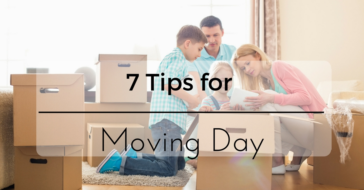 7 Tips for Moving Day
