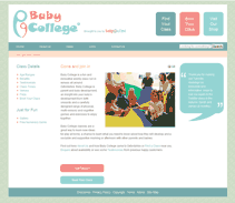 Baby College Oxford website