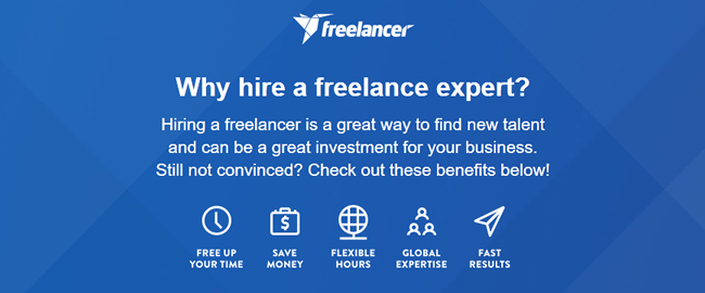 Why hire a freelance expert?