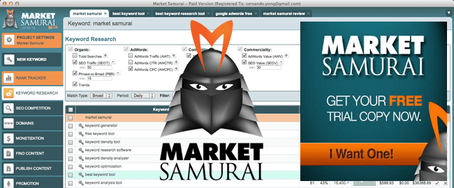 Market Samurai - Get this great software for free