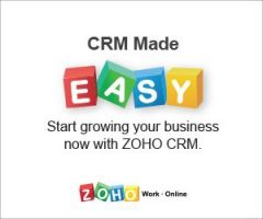 Zoho CRM is an End-to-End Fully Customizable CRM Solution