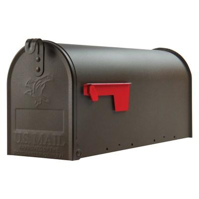 Elite bronze mailbox