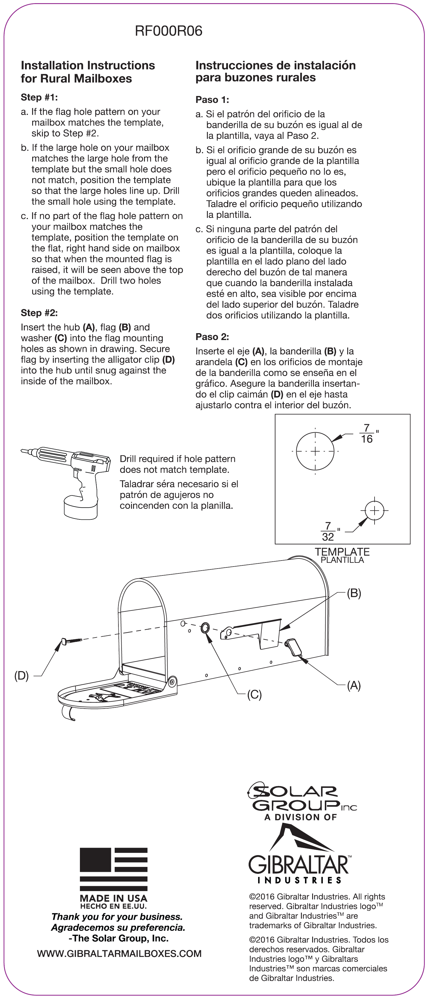 Mailbox Instructions And Assembly