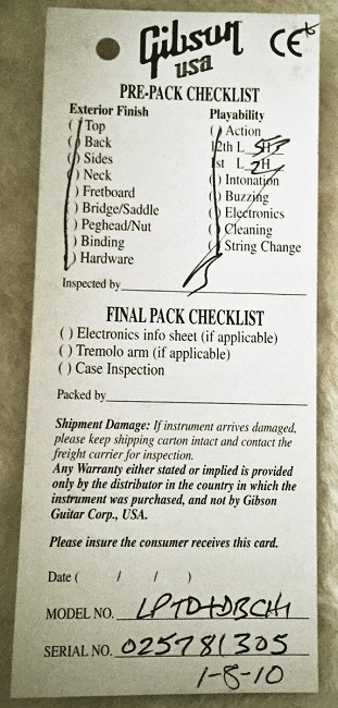 2008 checklist of Desert Burst