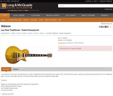 Les-Paul-Traditional-Faded-Honey-Burst-LPTDFHBNH1-Long-&-McQuade