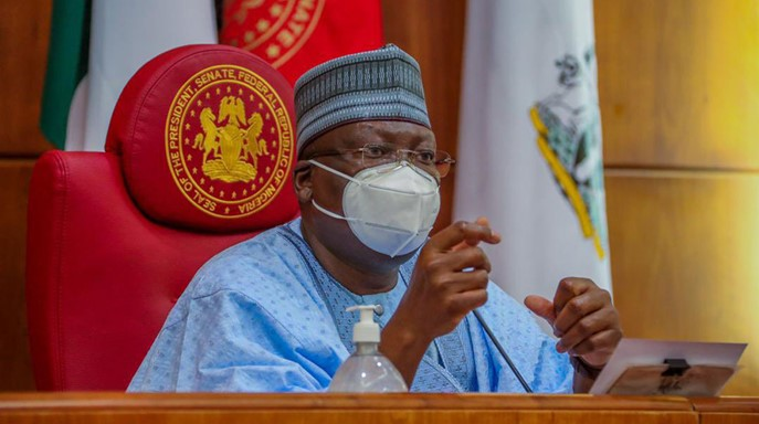 """""""Given the challenges, the only option is to keep borrowing responsible"""" – Senate President, Lawan"""