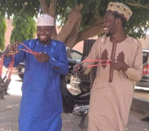 Youths in Katsina get catapults to battle with bandits