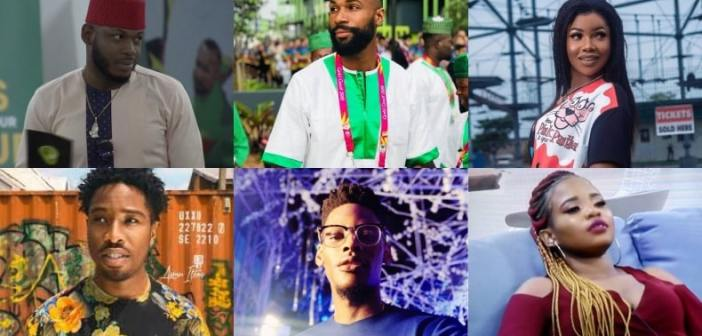 #BBNaija: Frodd put up Tacha, Mike, Elozonam, Cindy, and Ike for eviction