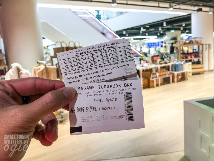 Tiket Madame Tussauds Bangkok