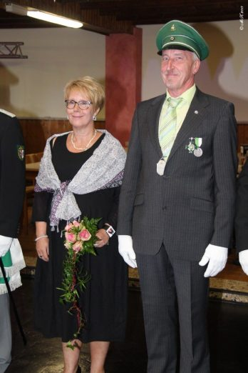 25järige Jubelkönigspaar Norbert u. Ilona Nolte