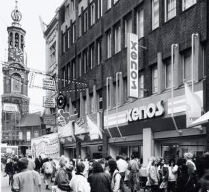 Verbouw en nieuwbouw winkelcomplex - Gietermans & Van Dijk architecten - Kalverstraat Amsterdam