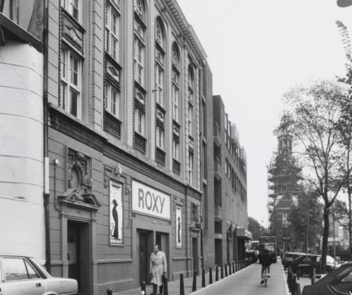 Verbouw en nieuwbouw winkelcomplex - Gietermans & Van Dijk architecten - Singel Amsterdam - RoXY discotheek