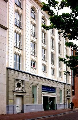 Verbouw en nieuwbouw winkelcomplex - Gietermans & Van Dijk architecten - Singel Amsterdam