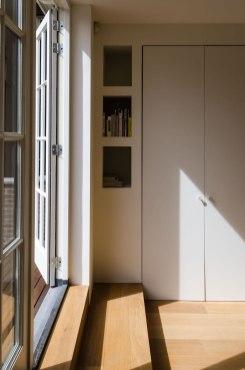 Bovenverdieping - Verbouw en uitbreiding woonhuis in Amsterdam - Gietermans & Van Dijk architecten - Serena Silooy Photography