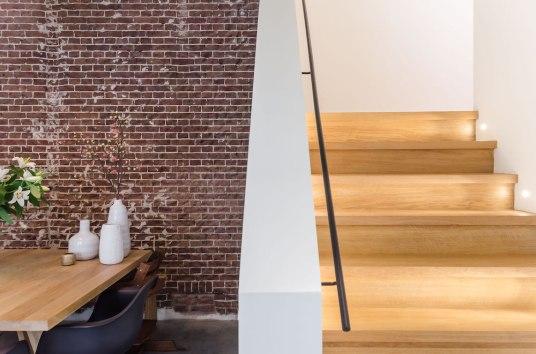 Eethoek detail - Verbouw en uitbreiding woonhuis in Amsterdam - Gietermans & Van Dijk architecten - Serena Silooy Photography