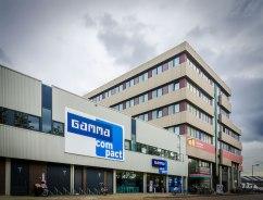 Vooraanzicht Tetterode met ingang Gamma - Transformatie voormalig Tetterode-complex - Gietermans & Van Dijk architecten - Serena Silooy Photography
