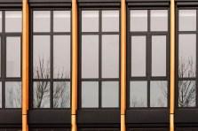 Kozijnen detail - Loodgietersbedrijf ReVe Lijnden - Nieuwbouw bedrijfsgebouw met werkplaats en kantoorruimte - Gietermans & Van Dijk Architecten - Serena Silooy Photography - Architectuurfotografie