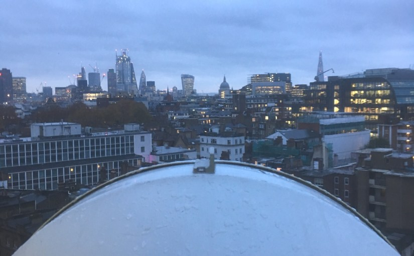 Gigabit Wireless MMW Radios Deployed in London