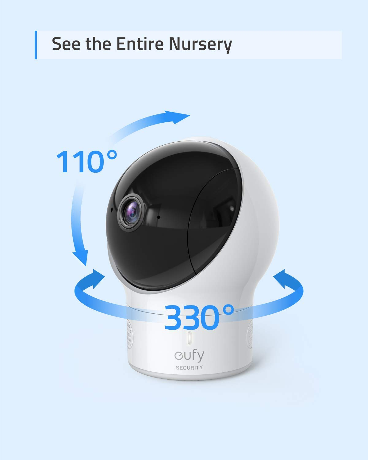 Baby Monitor eufy Security SpaceView Video Baby Monitor Pioneering Generation