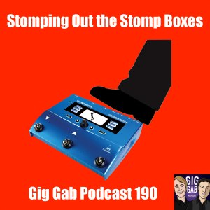 stomping out the stomp boxes