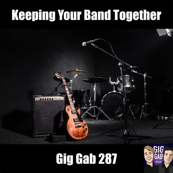 Music Rehearsal Room Gig Gab 287 Episode Image