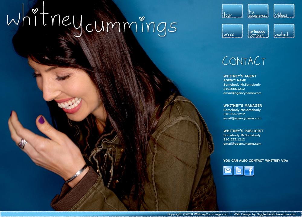 WHITNEYCUMMINGS.COM
