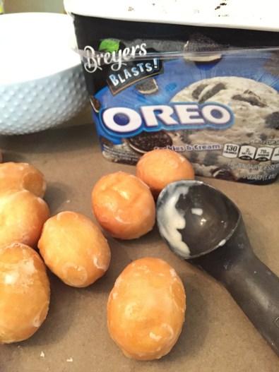 doughnuts & ice cream