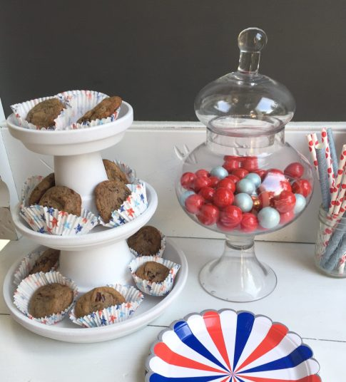 cookies in cupcake liners