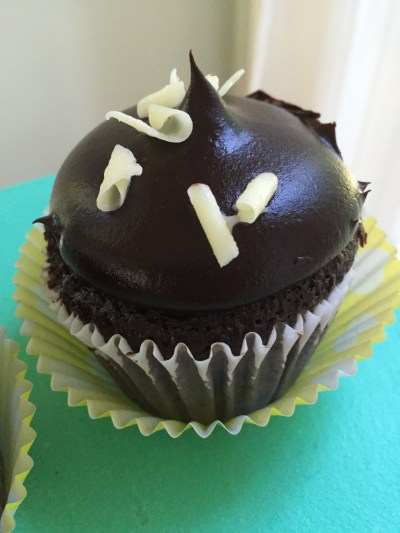chocolate truffle cupcake
