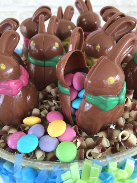 bunny candy containers