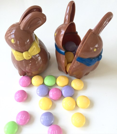 "Easter bunny ""eggs"""