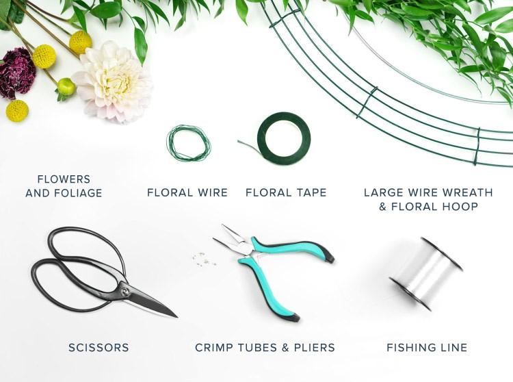 floreal chandelier materials