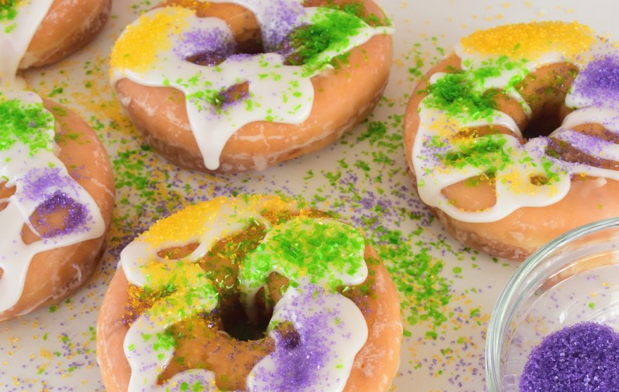 king cake tradition made easy see how to make a miniature substitute