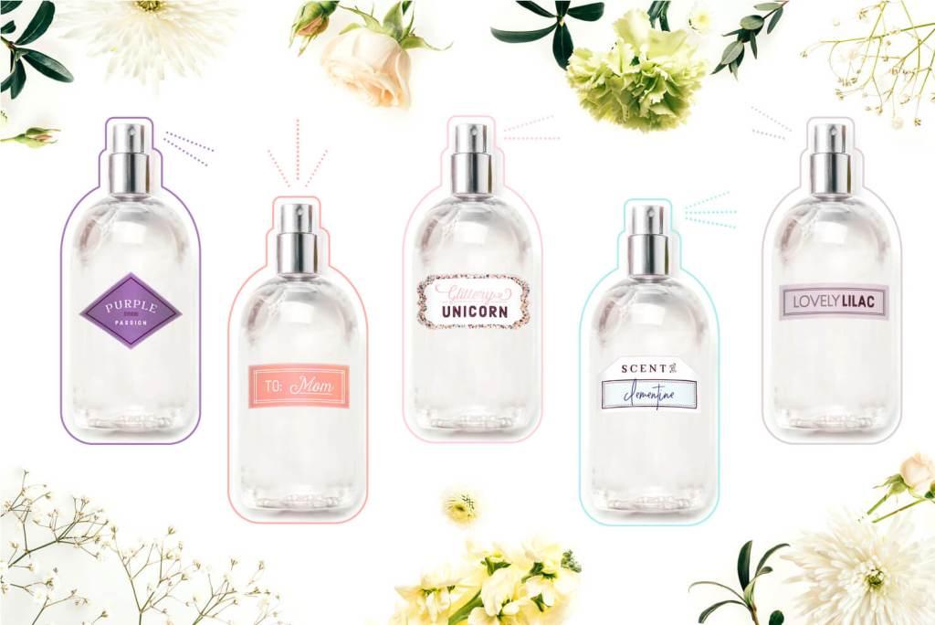 DIY gift idea: create custom perfume for mom, and it's kid