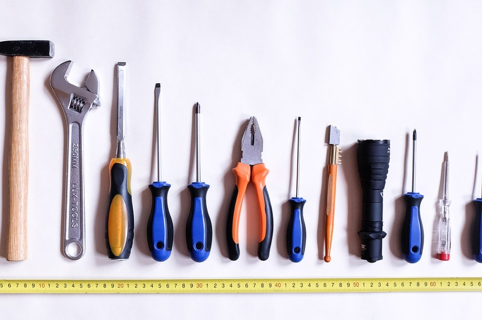 tools, work, repair