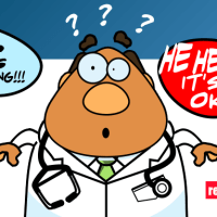 Once in a while, everyone makes mistakes, and this doctor was very guilty about what he's done !!