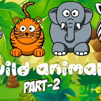 COLOR COUNT FUN| FARM ANIMAL SONG |LEARN WILD ANIMALS AND SOUNDS