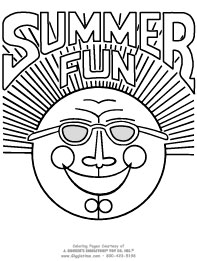 summer coloring pages giggletimetoys com