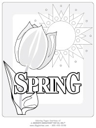 seasons coloring pages # 19