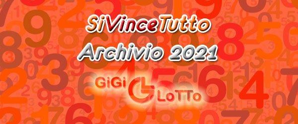Archivio SiVinceTutto 2021