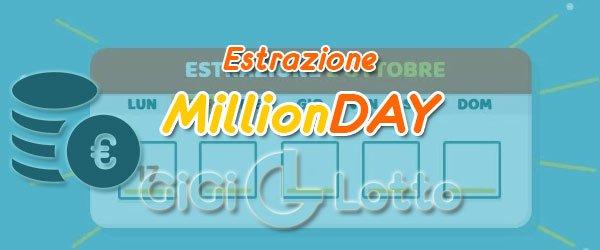 Estrazioni MillionDay
