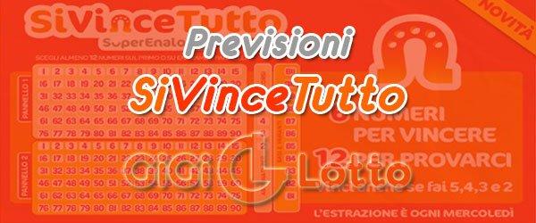 Previsioni SiVinceTutto del 16-09-2020