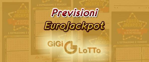 Previsioni Eurojackpot del 22 01 2021